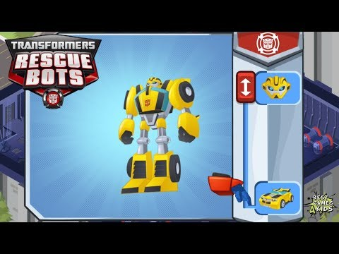 Transformers Rescue Bots: Hero 2.0 #5 | BUMBLEBEE: Earthquakes, Restore Power To Griffin Rock!