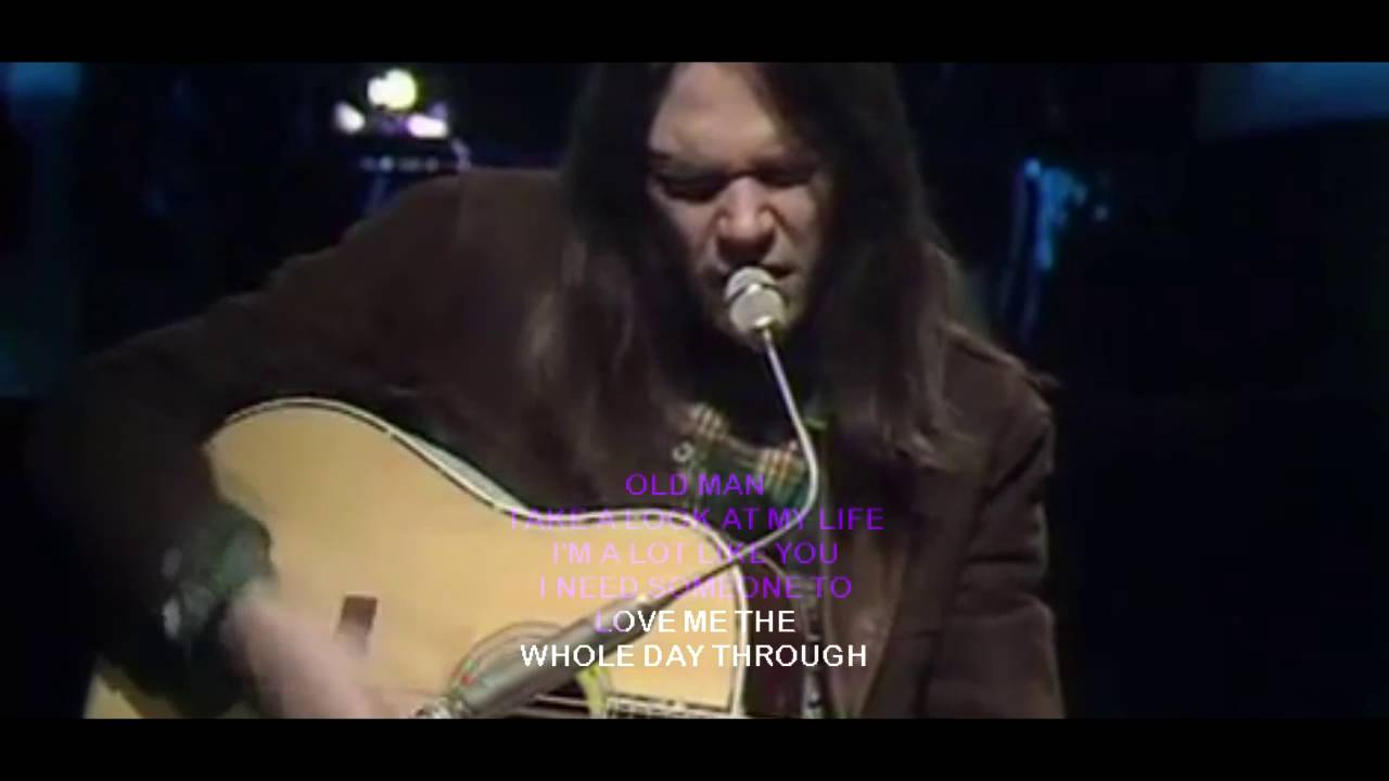 neil young old man with lyrics youtube. Black Bedroom Furniture Sets. Home Design Ideas