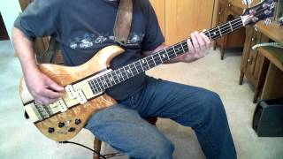 The Spinners Rubberband Man Greg Papaleo Bass Cover  Bob Babbitt Tribute RIP