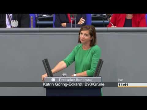 Katrin Göring-Eckardt zur Lage in Deutschland vor der Wahl