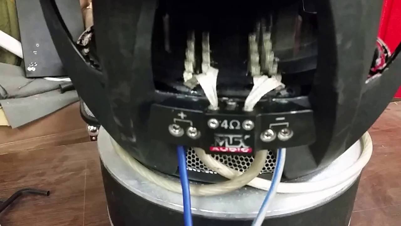 Free air 12` Mtx Thunder 9500 subwoofer