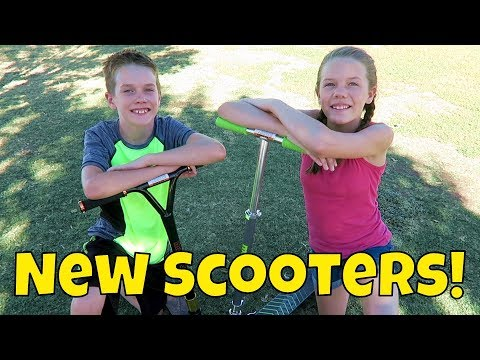 Kids Finally Get New Scooters! (Day 1966)
