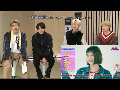 Download BTS reaction to MOMOLAND (모모랜드) _ 'BBoom BBoom (뿜뿜)' MV