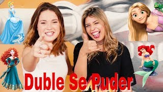 Baixar DUBLE SE PUDER COM RAISSA CHADDAD (PRINCESAS DA DISNEY)