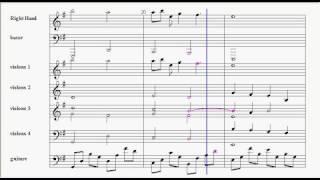 sadness and sorrow sheet music
