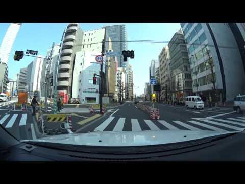 Tokyo drive 4K 2017 東京 港区 渋谷