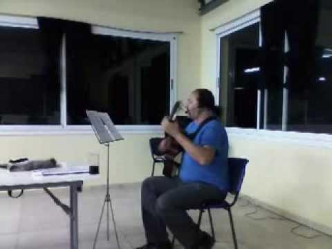 Sergio Sánchez   Recital de LOS BLANCOS DE MI TIERRA