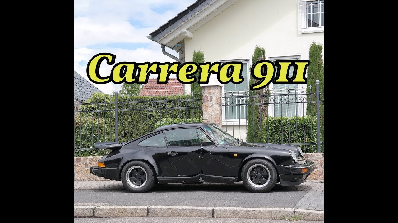 porsche 911 carrera 3 2 coupe unfallwagen ankauf youtube. Black Bedroom Furniture Sets. Home Design Ideas