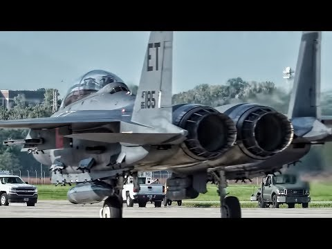 USAF Evacuates Fighter Jets In Front Of Hurricane Michael
