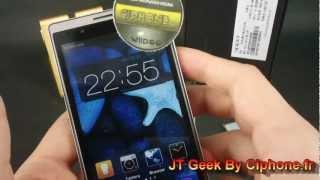 Oppo T29 MT6577 3000mAh English test