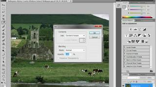 Заливка с учетом содержания изображения в Photoshop CS5 (5/19)