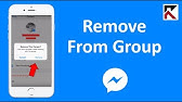 Line Messenger - How To Remove A Member From The Group - YouTube