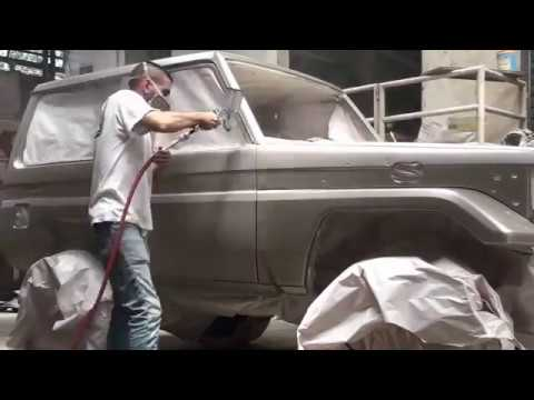 Toyota Land Cruiser 70 paint job / machito trabajo de pintura