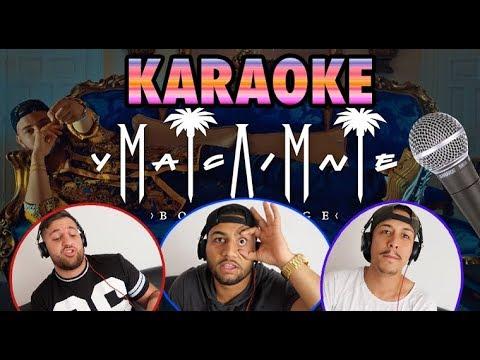 MIAMI YACINE  - BON VOYAGE (KARAOKE) #1 😂🎤