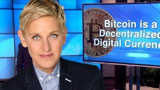 TV Superstar Ellen LOVES BITCOIN?!
