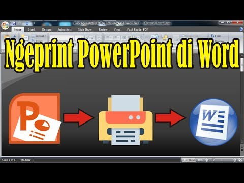Cara Ngeprint Slide PowerPoint di Microsoft Word
