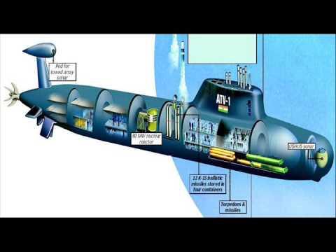 India's Indigenous Nuclear Submarine - INS Arihant (Arihant Class)