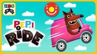 Собирай машинки и ищи подарки в веселых гонках для детей Pepi Ride от Pepi Play  iOS  roid