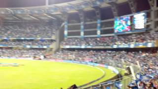 Mumbai Indians vs RR at Wankhede Stadium on 25 May