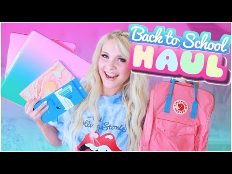 Back To School Supplies Haul! + GIVEAWAY 2018