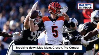 Breaking Down 'Mad Maxx Crosby, The Condor' | Baldy's Breakdowns | Raiders