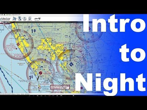 GS: Intro to Night Flying | Night Flight Planning