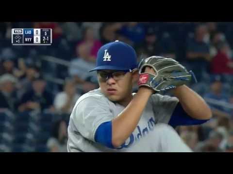 September 13, 2016-Los Angeles Dodgers vs. New York Yankees