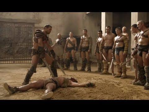 Spartacus humiliates Crixus
