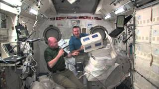 Volume on the International Space Station