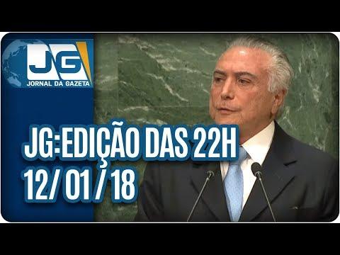 Jornal da Gazeta - Edição das 10 - 12/01/2018
