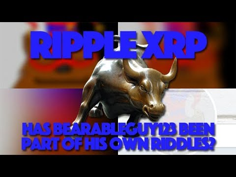 """Ripple XRP: Has BearableGuy123 Been Part Of His Own Riddles This Whole Time? BIS & """"20"""" Examined"""