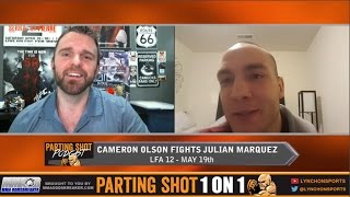 LFA 12's Cameron Olson talks Julian Marquez, training at Roufusport & possible UFC jump