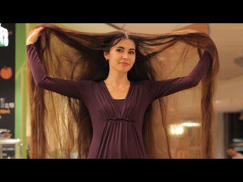 Real-Life Rapunzel Has 90 Inch Long Hair