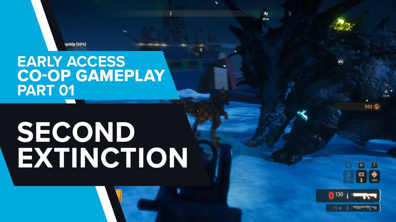 Second Extinction Early Access Co-op Gameplay - Part 01