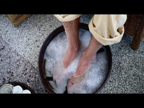 Как парить Ноги с Горчицей или Эвкалиптом при Кашле, Насморке и Простуде