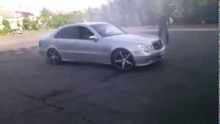 Mercedes Benz E320 CDI Drift