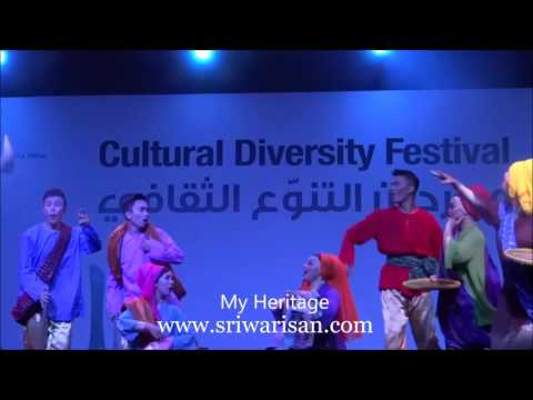 Sri Warisan at Cultural Diversity Festival in Doha, Qatar 1 to 6 May 2016