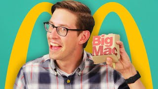 Keith Eats Everything At McDonald's • The Try Vlog