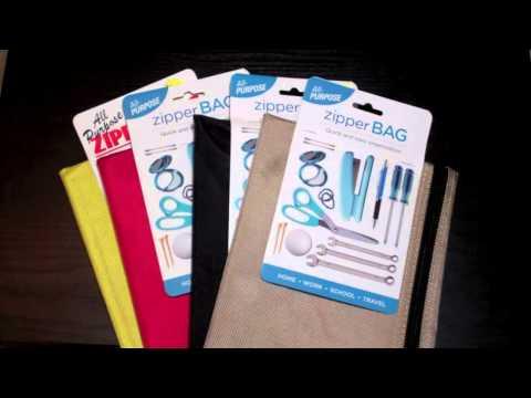 EDC Bag Compartment Options, The Zipper Bag- Eric TBP