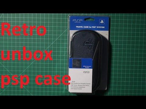 Sony PSP Travel Case Unboxing
