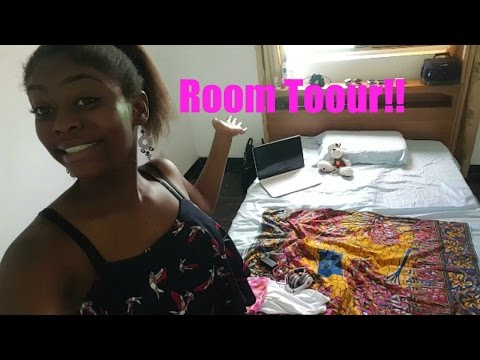 GETTING OUR NAILS DONE/ MINI ROOM TOUR | Ghana Day 2