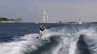 Waterskiing in Dubai - Burj Al Arab