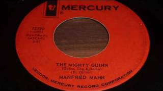 "Manfred Mann ""The Mighty Quinn (Quinn The Eskimo)"" 45rpm original vinyl recording"