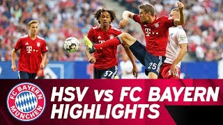 Wagner & Müller with a Brace | Hamburger SV vs. FC Bayern 1-4 | Highlights