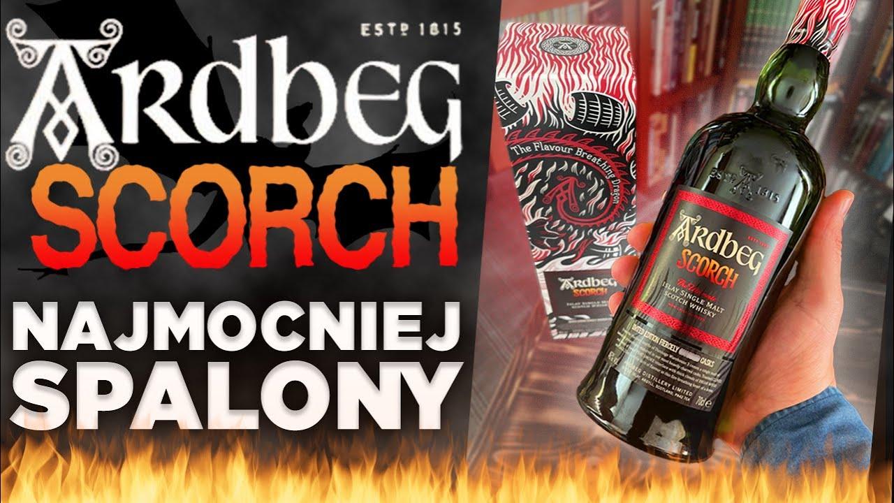 Ardbeg Scorch - limitowana edycja dymnego potwora z Islay!!! Bardzo dymna Single malt Scotch whisky!