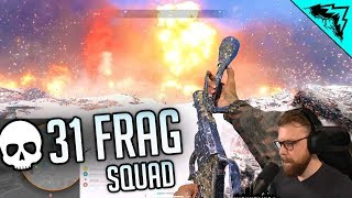 31 FRAG - Battlefield 5 FIRESTORM Gameplay
