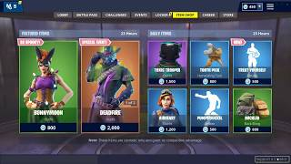 'NEW' BUNNYMOON SKIN ' TREAT YOURSELF EMOTE (Fortnite Item shop October 27th)