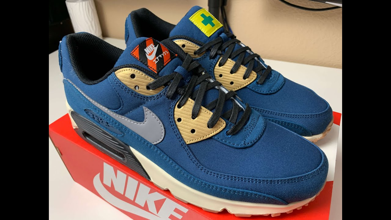 Nike Air Max 90 City Pack Tokyo Review!