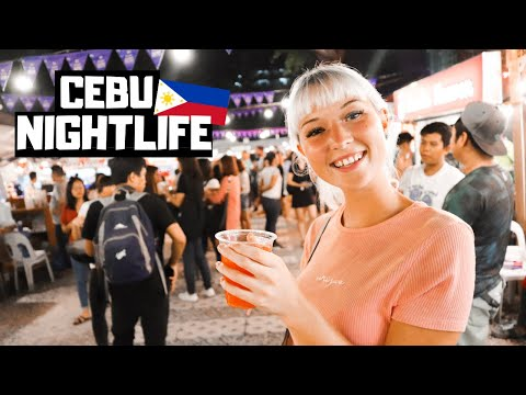CRAZY Cebu Nightlife At IT Park, Philippines - The BEST Sinu