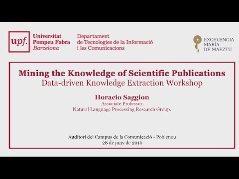 Mining the Knowledge of Scientific Publications